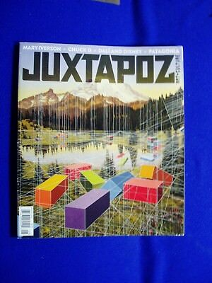 Juxtapoz  175. Aug 2015 , Mary Iverson, Chuck D, Dali and Disney, Patago  VFN.