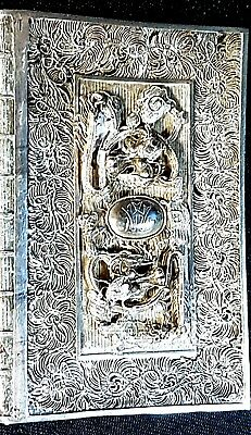 Beautiful 19th Century Antique Chinese Export Silver Filigree Card Case by YKC