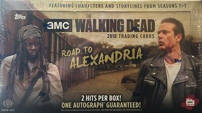 Topps Walking Dead Road To Alexandria Trading Cards Hobby Sealed Box - In Stock!