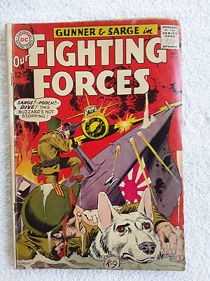 Our Fighting Forces #87 (Oct 1964, DC) VG-