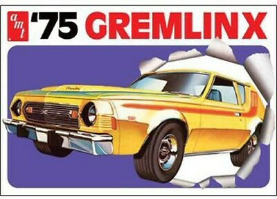 1975 Gremlin X re-issue 1/25 scale skill 2 AMT plastic model kit#768