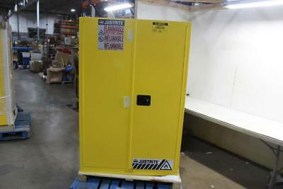 Justrite 45 Gal Yellow Flammable Storage Cabinet 894500