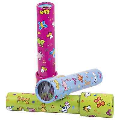 """Traditional Optical Toy """"farm Animals"""" Kaleidoscope  In 3 Colours"""
