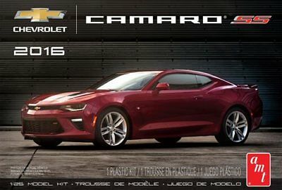 2016 Chevy Camaro SS in Garnet Red 1/25 scale skill 2 AMT model kit#979