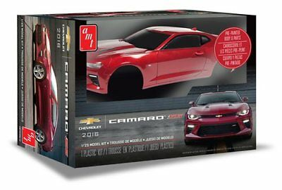 2016 Chevy Camaro SS (Pre-Painted) 1/25 scale skill 2 AMT model kit#1020