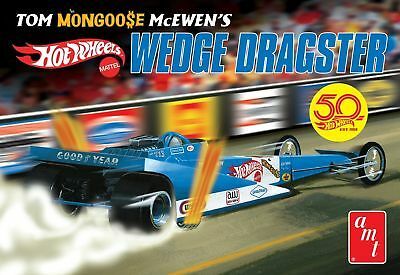"""Tom """"Mongoose"""" McEwen Dragster 1/25 scale skill 2 AMT plastic model kit #1069"""