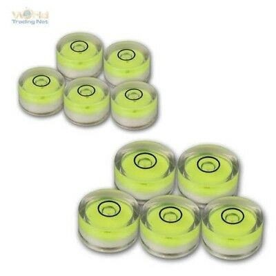 Circular Level 5 PCS,Spirit Level,Ø 15mm or 18mm Dragon Fly Round Precision