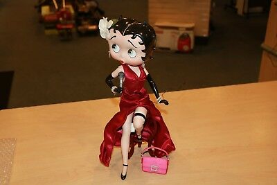"Danbury Mint Syd Hap Betty Boop ""Sings the Blues"" Collectible Porcelain Figure"