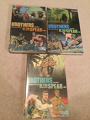 Brothers of the Spear Archives Volumes 1-3 Hardcover Books - Dark Horse - Sealed