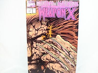 Marvel Comics Presents Weapon X #84 Marvel Modern Age 1991