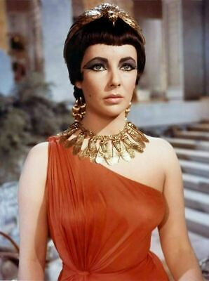 ELIZABETH TAYLOR COLOR MOVIE PHOTO from the 1963 film CLEOPATRA