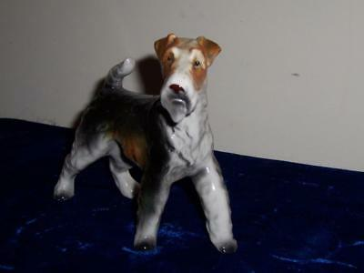 Vintage Ucagco Ceramics Japan Porcelain Terrier Dog Figurine