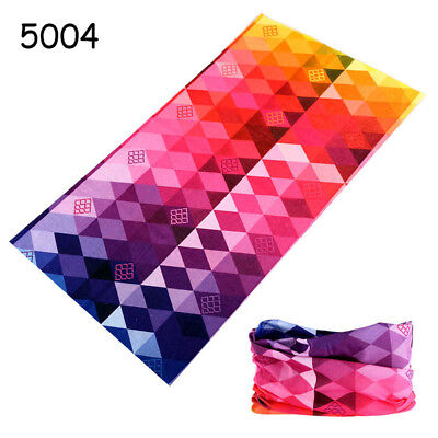 Unisex Cycling Motorcycle Gaiter Mask Scarf Multicolor Headwear Neck Magic Snood