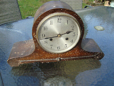 Vintage Clock Face With Hands And Mechanism