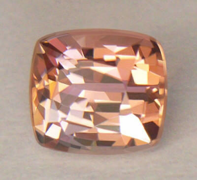 Super Rare *certified* Peach With Pink Hues Unheated/untreated Zoisite/tanzanite