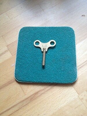 Clock Winding key size 2.00 mm No 00 SWISS Made  Brass lots of Sizes in Stock