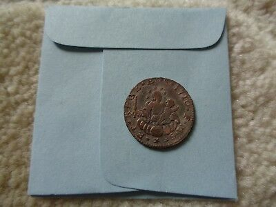 1710 GENOA Republic of Italy 2 Soldi coin