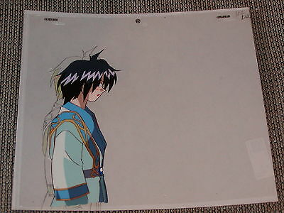 Slayers Next Production Anime Cel - Amelia's Cousin Alfred + Sketch