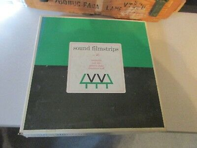 Vintage Weston Woods Studios Sound Filmstrips/Booklets/Record Set 25 XLib AS IS