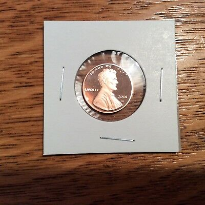 2018 Lincoln Cent Clad Proof  ships next day