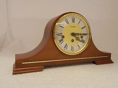 Vintage FRANZ HERMLE Two (2) Jewels MANTLE CLOCK (340-020 / West Germany)