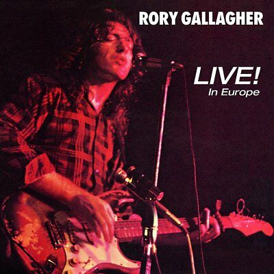 Rory Gallagher - Live! In Europe - New Cd Album