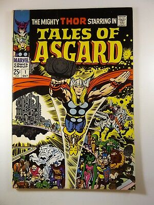 Tales of Asgard #1 '68 Series Classic Thor Tales!! Kirby Art!! Fine+ Condition!!
