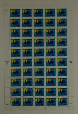Us Scott 3257 Pane Of 50 H Rate Make Up Stamps 1 Cent Face Mnh