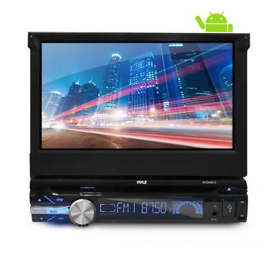 Single DIN Stereo System Pop-Out Touchscreen, GPS, CD/DVD, Bluetooth