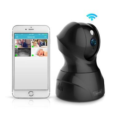 1080p IP Camera - HD WiFi Cam, Built-In Speaker & Microphone