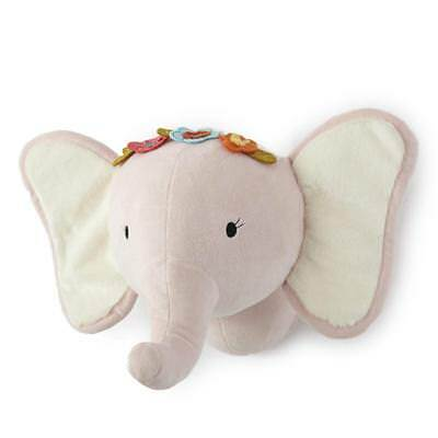 New Levtex Baby Pink Elephant Head Wall Decor Model:7364D996