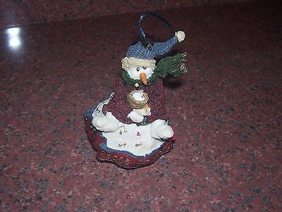 Boyds Ornament Folkstone Collection Robin Peace On Earch 1995
