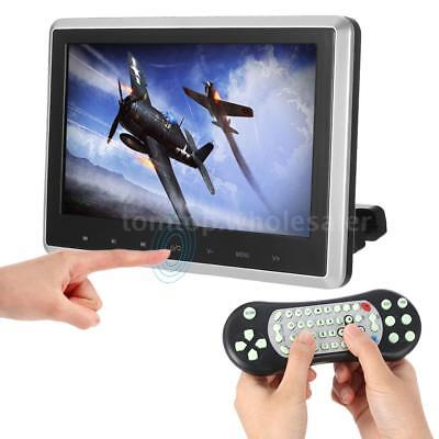 10.1Inch HD Digital LCD Screen Car Headrest Monitor DVD Media USB SD Player I0V3