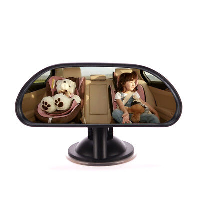 Large Wide Baby Child Car Safety Back Seat Mirror Rear View Adjustable Rotatable