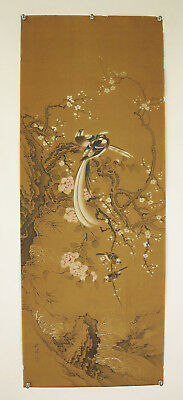 "JAPANESE MAKURI,HONSHI : OKAMOTO SHUKI ""Flower and Bird""  @s278"