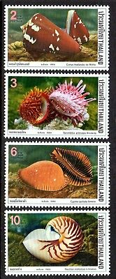 1989 THAILAND SHELLS SG1413-1416 mint unhinged