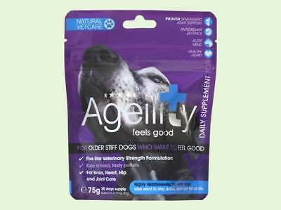Natural Vetcare Mobility 75g -Complete support for stiff dogs