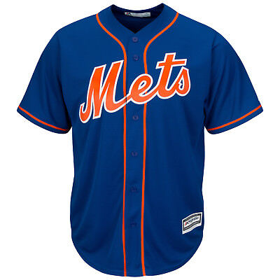 MLB Baseball Trikot New York NY Mets blau Home Cool base Majestic Jersey