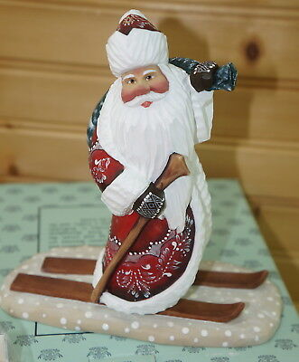 SKIING SANTA Wilderness Santa Series, 2nd Edition G.DeBrekht DerEvo Collection