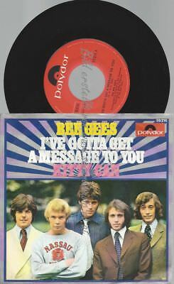 "7""   Bee Gees ‎– I've Gotta Get A Message To You"