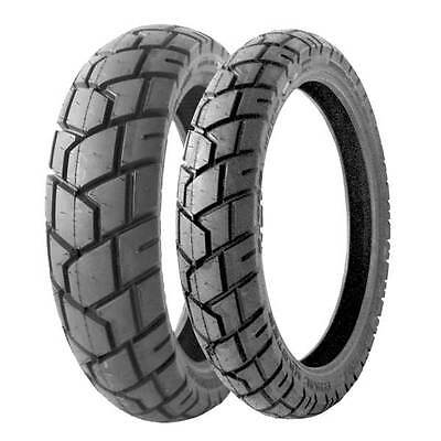 Dual Sport Motorcycle Front Rear Tires Shinko 705 110/80R-19 150/70R-17 Radial