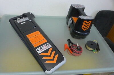 C SCOPE CAT cable/pipe locator ready2use kabelsuchgerät
