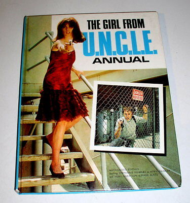 THE GIRL FROM UNCLE Annual 1966 Hard Back   Free Shipping