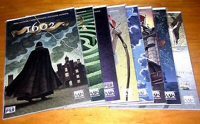 Neil Gaiman's -1602  1 2 3 4 5 6 7 and 8 of 8 COMPLETE SET Free Shipping