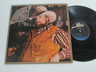 The Charlie Daniels Band/whiskey  Lp Usa Cbs Epic Pe 34664