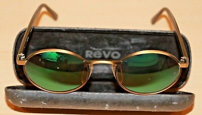 Vintage Revo 962/010 Sunglasses w/ Case Made in Japan Pre-owned Free Shipping