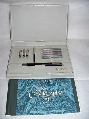 Vintage 1989 Parker Calligraphy Set In Box With Instructions