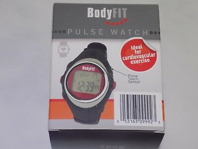 Body Fit Pulse Fitness Monitor Watch for Running, Cycling or Circuit Training