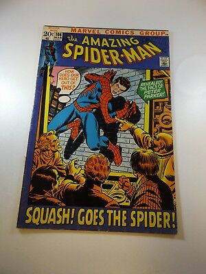 "Amazing Spider-Man #106 VG- condition ""bottom staple detached from cover"""