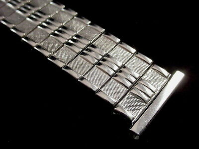 Vintage NOS Foster Flashy Stretchy Stainless expansion watch band 19mm 3/4 inch